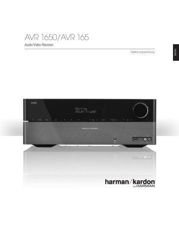 AVR 1650/AVR 165