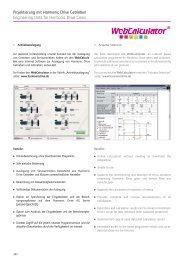 Projektierung mit Harmonic Drive Getrieben Engineering Data for ...