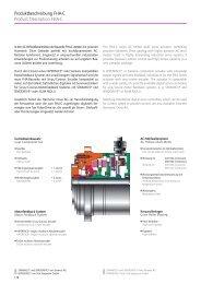 Produktbeschreibung FHA-C Product Description FHA-C