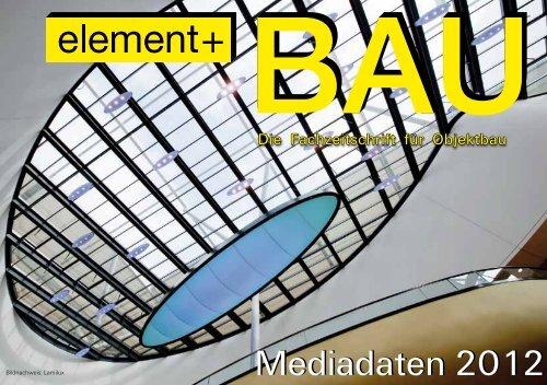 Mediadaten 2012 - Dr. Harnisch Verlag