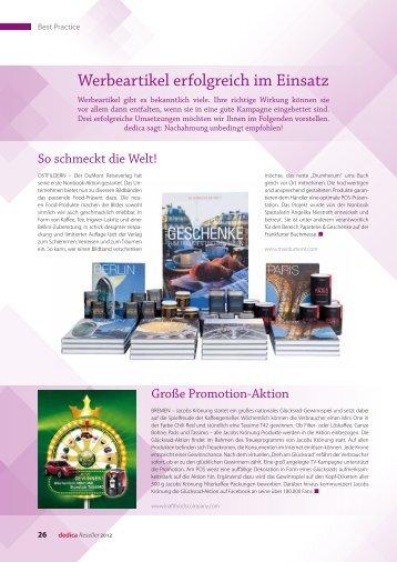 Werbeartikel erfolgreich im Einsatz - Dr. Harnisch Verlag