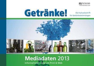 Mediadaten 2013 - Dr. Harnisch Verlag