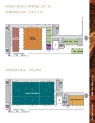 Caesars PalaCe ConferenCe Center Promenade level – 3rd floor ...