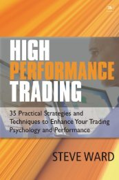 Read a PDF Sample of High Performance Trading - Harriman House