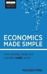 Read a PDF Sample of Economics Made Simple - Harriman House
