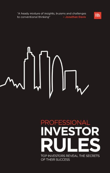 Read a PDF Sample of Professional Investor Rules - Harriman House