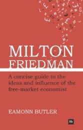 Read a PDF Sample of Milton Friedman - Harriman House