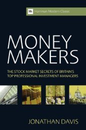 Read a PDF Sample of Money Makers - Harriman House