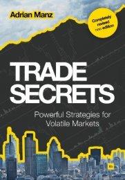 Read a PDF Sample of Trade Secrets - Harriman House