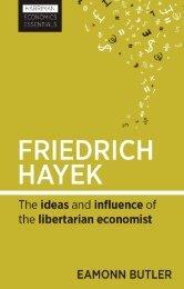 Read a PDF Sample of Friedrich Hayek - Harriman House
