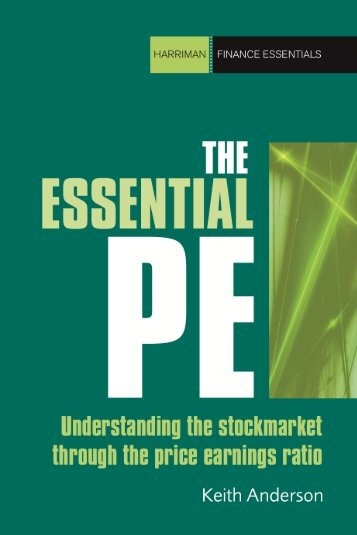 Read a PDF Sample of The Essential P/E - Harriman House