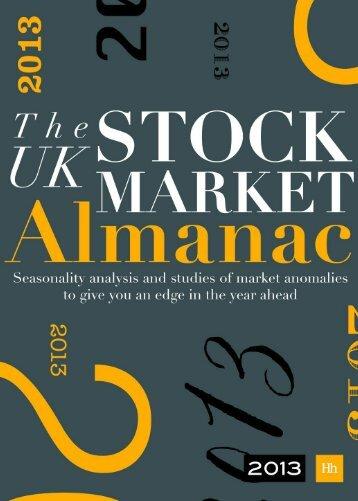Download: PDF sample - The UK Stock Market Almanac