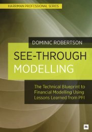 Read a PDF Sample of See-Through Modelling - Harriman House