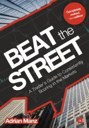 Read a PDF Sample of Beat the Street - Harriman House