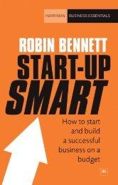 Read a PDF Sample of Start-up Smart - Harriman House