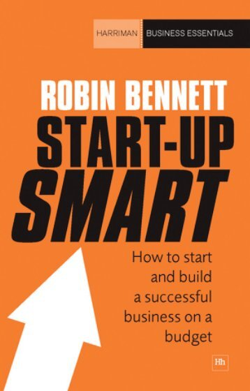 Read a PDF Sample of Start-up Smart - Harriman House