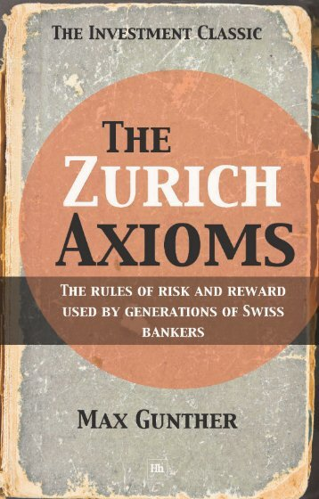 The Zurich Axioms - Harriman House