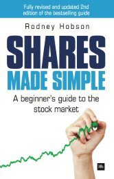 Read a PDF Sample of Shares Made Simple - Harriman House