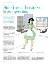 Starting A Business In Your Spare Time - Harriman House
