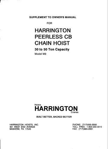 cb hand chain hoist 30 50 ton harrington hoists and cranes?quality=85 hand chain blocks lever hoist jaw winches Harrington Chain Hoist Parts at edmiracle.co
