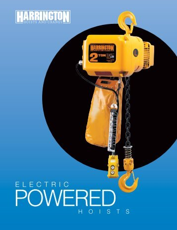 Download PDF - Harrington Hoists and Cranes