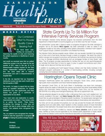 HHS news_02_12 - Harrington Memorial Hospital