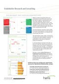 Stakeholder Research and Consulting - Harris Interactive - Page 4
