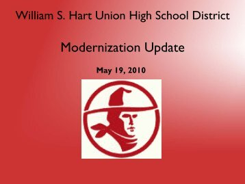phase 4 - William S. Hart Union High School District