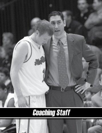 Coaching Staff - Hartford Hawks