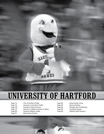 UniveRsity of HaRtfoRd - Hartford Hawks