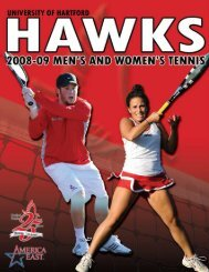 tennis - Hartford Hawks