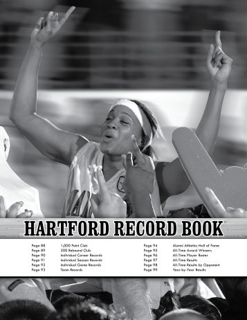 hartford record book - Hartford Hawks