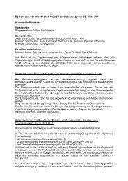 005 Beschlüsse vom 05.03.2013 - Gemeinde Hartheim