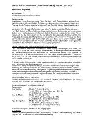009 Beschlüsse vom 11.06.2013 - Gemeinde Hartheim