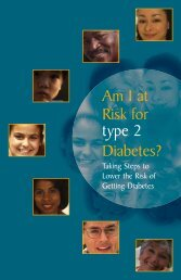 Am I At Risk for Type-2 Diabetes?