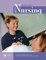 Hartford Hospital Nursing Magazine, Spring 2005