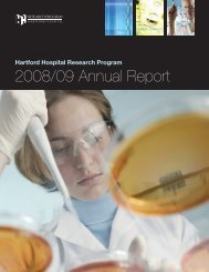2008/09 Annual Report - Hartford Hospital!