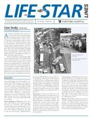 LIFE STAR LINES - Fall, 2005 - Hartford Hospital!
