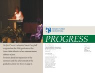 PROGRESS - SUMMER, 2006 - Hartford Hospital!