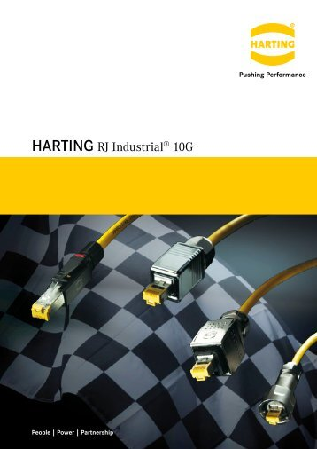 HARTING RJ Industrial® 10G - setron
