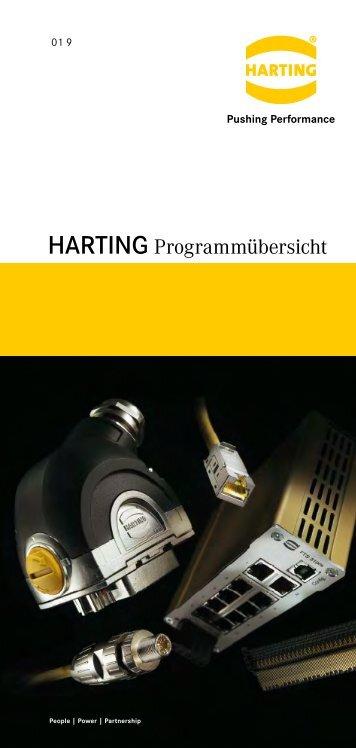 harting Programmübersicht - HARTING Technologiegruppe