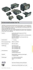 harting Programmübersicht - HARTING Technologiegruppe - Seite 7