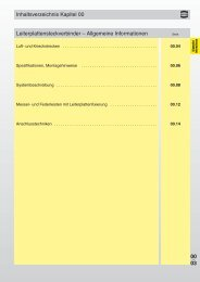 Allgemeine Informationen - Harting