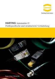Profilspezifische und strukturierte Verkabelung HARTING ...