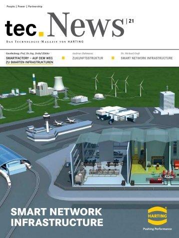 SMART NETWORK INFRASTRUCTURE tec News21 - Harting