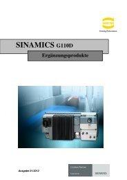 SINAMICS G110D - Harting