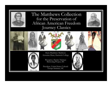The Matthews Collection - Hartwick College