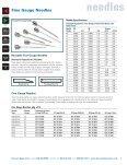 needles - Harvard Apparatus - Page 3