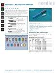 needles - Harvard Apparatus - Page 6
