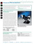 manipulators - Harvard Apparatus - Page 7